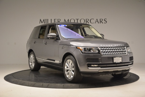 Used 2016 Land Rover Range Rover HSE TD6 for sale Sold at Maserati of Westport in Westport CT 06880 11