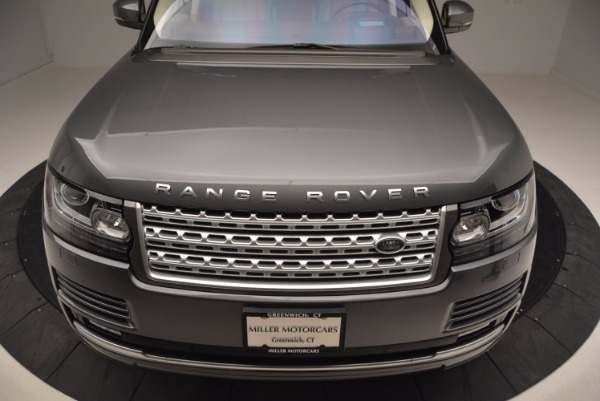 Used 2016 Land Rover Range Rover HSE TD6 for sale Sold at Maserati of Westport in Westport CT 06880 13