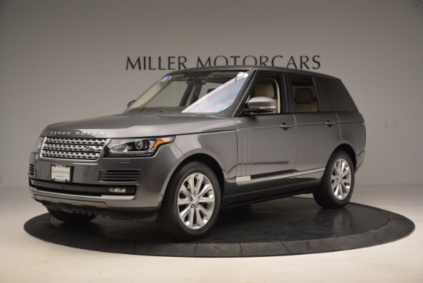 Used 2016 Land Rover Range Rover HSE TD6 for sale Sold at Maserati of Westport in Westport CT 06880 2