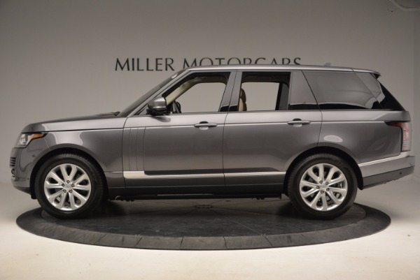 Used 2016 Land Rover Range Rover HSE TD6 for sale Sold at Maserati of Westport in Westport CT 06880 3