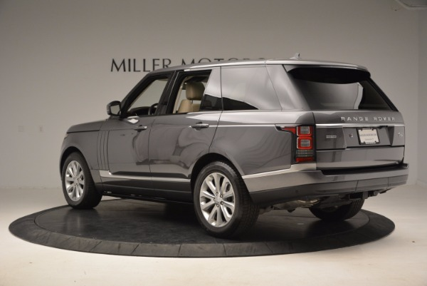 Used 2016 Land Rover Range Rover HSE TD6 for sale Sold at Maserati of Westport in Westport CT 06880 4