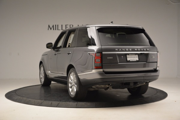 Used 2016 Land Rover Range Rover HSE TD6 for sale Sold at Maserati of Westport in Westport CT 06880 5