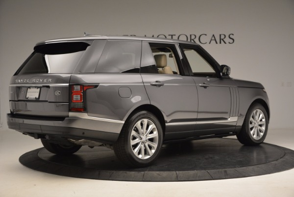 Used 2016 Land Rover Range Rover HSE TD6 for sale Sold at Maserati of Westport in Westport CT 06880 8
