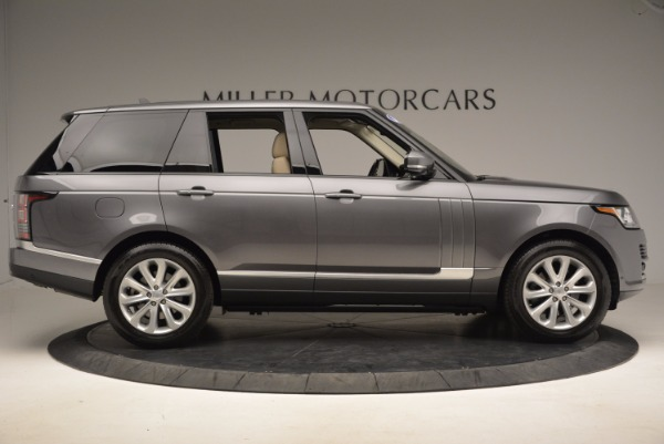Used 2016 Land Rover Range Rover HSE TD6 for sale Sold at Maserati of Westport in Westport CT 06880 9