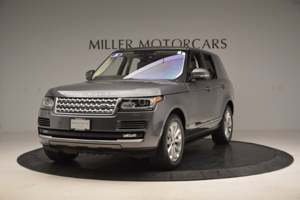Used 2016 Land Rover Range Rover HSE TD6 for sale Sold at Maserati of Westport in Westport CT 06880 1